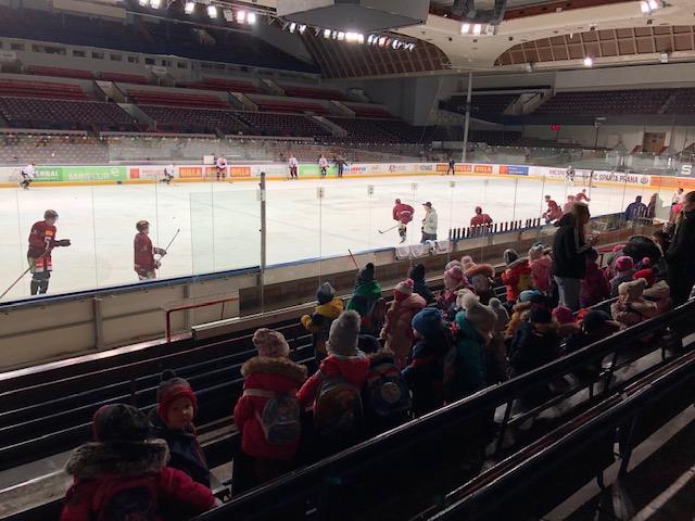 VÝLET – trénink hokejové Sparty